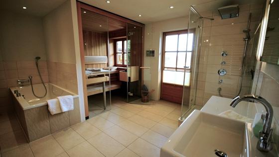 Chalet Lisa Sauna & Bathroom
